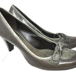 Antonio Melani Women Platforms Size 10M Grey